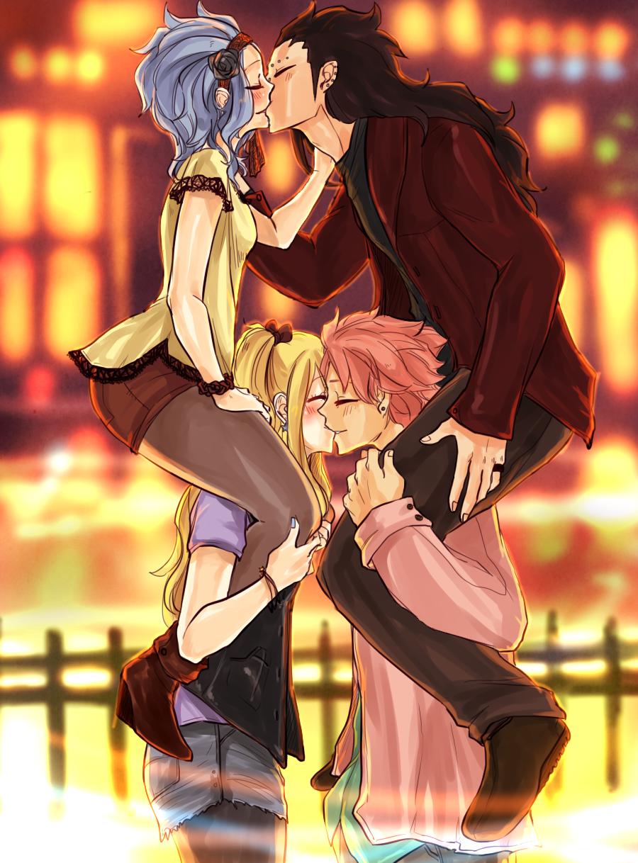 Fairy Tail fanfictie Natsu en Lucy dating vriendje kijken naar online dating sites