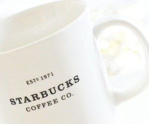 starbucks, coffee, and mug image