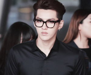 exo, kris, and wufan image