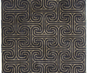 black and pattern image