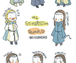 silmarillion, glorfindel, and ecthelion image