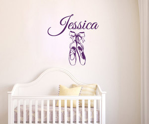 home decor, personalized name, and decalsm walldecor image