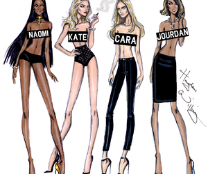 model, hayden williams, and kate moss image
