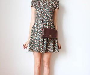 dress, girl, and bun image