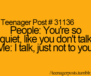 quote, teenager post, and people image