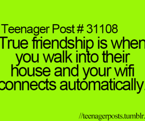 wifi, teenager post, and quote image