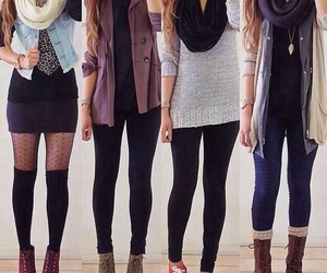beauty, fall, and outfits image
