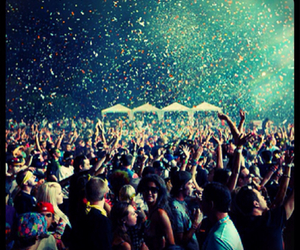 party, people, and concert image
