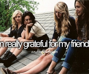 friends, girl, and grateful image