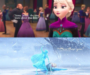 disney, snow, and frozen image