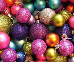 christmas and ornaments image