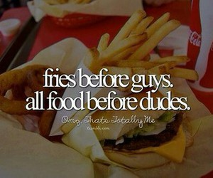 food, fries, and guys image