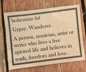artist, bohemian, and dictionary image