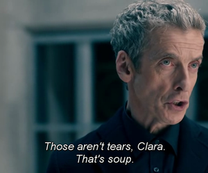 doctor who, soup, and tears image