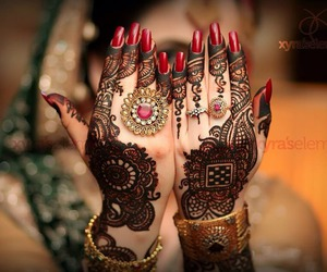 henna, mehndi, and design image