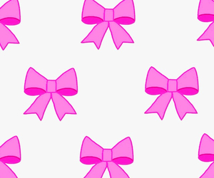 background, bow, and pink image