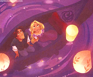 couple, tangled, and cute image