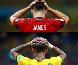 brazil, world cup, and colombia image