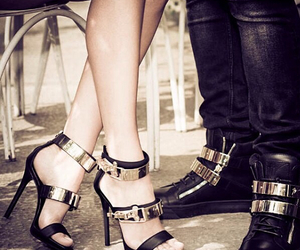 couples, his&hers, and giussepe zanotti image