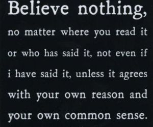 Buddha, quote, and believe image
