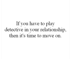 move on and Relationship image