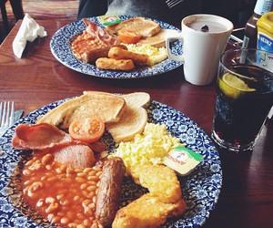 london, english breakfast, and england image