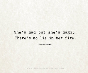 black and white, girl, and quote image