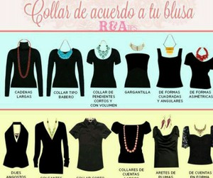 necklaces, tips, and moda image