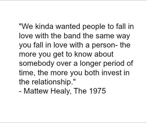 1975, fall in love, and matthew healy image