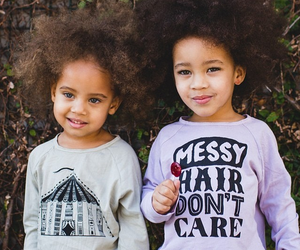 girl, adorable, and Afro image