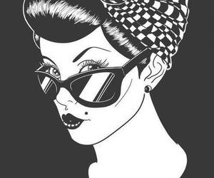 Pin Up, rockabilly, and vintage image