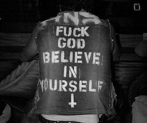 black and white, faith, and god image