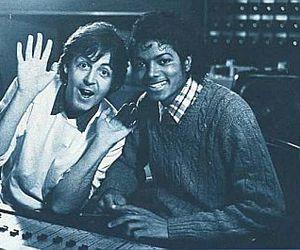 michael jackson, Paul McCartney, and music image