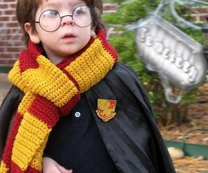 harry potter, kids, and cosplay image