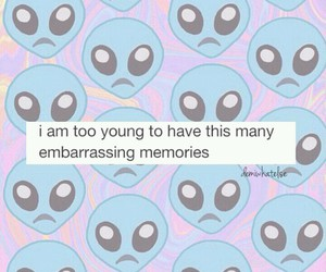 young, alien, and memories image
