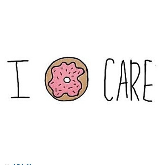 I donut care transparent