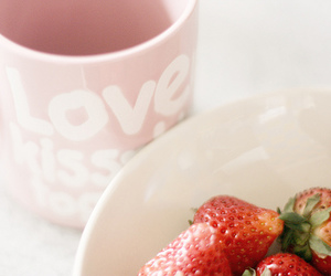 food, strawberry, and love image