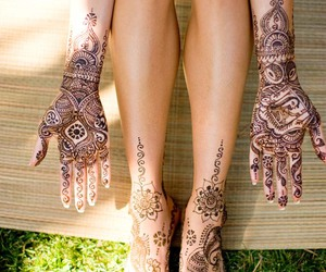 bride and henna image