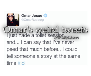 omar, tweets, and twitter image