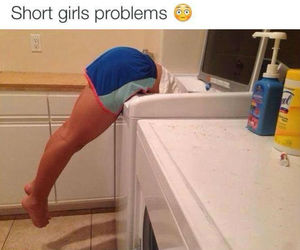 girl, short, and funny image