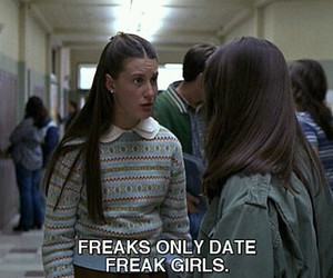 freak, freaks and geeks, and date image