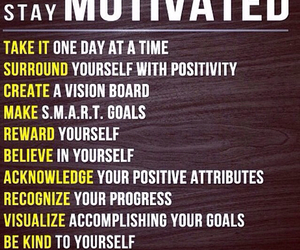 determined, reward, and motivated image