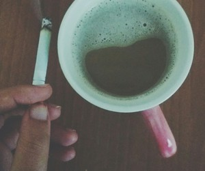coffee, cigarette, and Dream image
