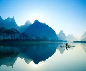 china, photograph, and scenery image