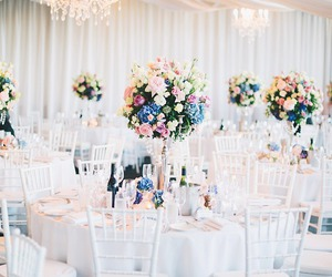 flowers, party, and pretty image