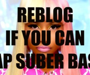 girl, nicki minaj, and super bass image