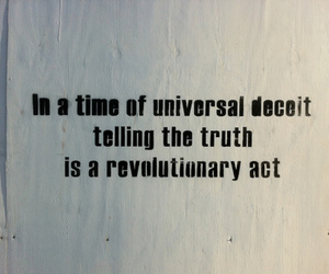 deceit, revolution, and truth image
