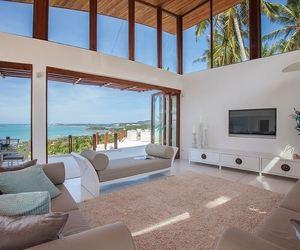 house, sea, and villa image
