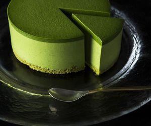 japanese matcha cake image