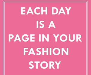 fashion, quote, and pink image